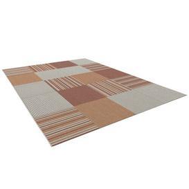 image-Ganix Flatweave Red/Grey Indoor/Outdoor Rug Mercury Row