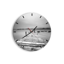 image-Clooney Silent Wall Clock Brayden Studio Size: 50cm H x 50cm W x 0.4cm D