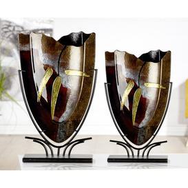 image-Canneto Floor Vase Bloomsbury Market Size: 47cm H x 29cm W