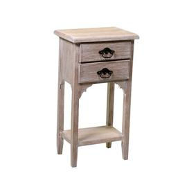 image-Swartz 2 Drawer Bedside Table August Grove