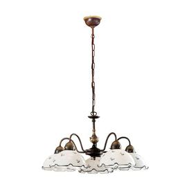image-Nonna 5-Light Shaded Chandelier Kolarz