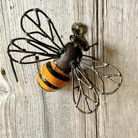 image-Meaney Honey Bee Garden Decoration Brambly Cottage