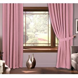 image-Pencil Pleat Curtains Symple Stuff Colour: Pink