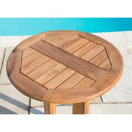 image-Piekos Teak Bistro Table Sol 72 Outdoor
