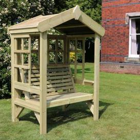 image-Croft Cottage 2 Seat Trellis Garden Arbour