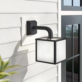 image-Vernon 1-Light LED Outdoor Wall Lantern Zipcode Design Finish: Anthracite