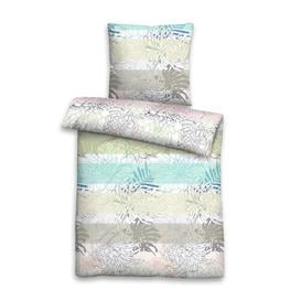 image-Floral Sea Reversible Duvet Cover Set biberna Size: Single - 1 Pillowcase (80 x 80 cm)