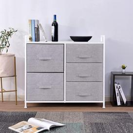 image-Flory 5 Drawers Chest