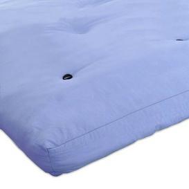 image-15cm Futon Mattress Symple Stuff Size: Double (4'6), Colour: Lilac