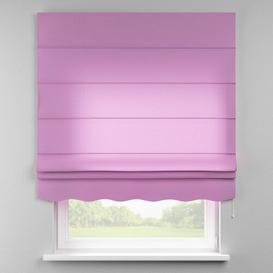 image-Loneta Semi-Sheer Roman Blind Dekoria Size: 130cm W x 170cm L, Finish: Lavender