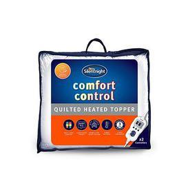 image-Silentnight Comfort Control Heated Mattress Topper