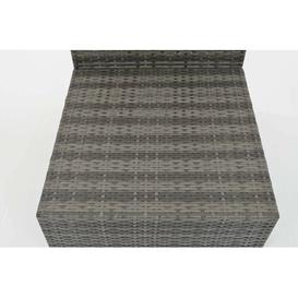 image-Elvis 7 Seater Rattan Corner Sofa Set Sol 72 Outdoor Colour: Grey