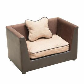 image-Zaina Dog Sofa in Brown Archie & Oscar