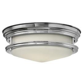 image-HK/HADLEY/F/BATH Hadley 2 Light Polished Chrome Bathroom Flush Light