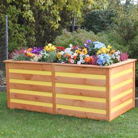 image-Planter Freeport Park Colour: Honey brown/Yellow