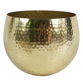 image-Westlake Decorative Bowl Bloomsbury Market Colour: Gold, Size: 22cm H x 17cm W x 17cm D