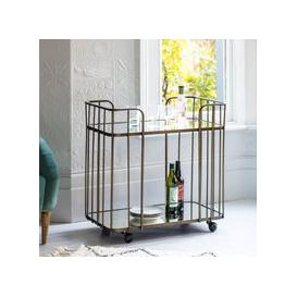 image-Gallery Direct Verna Drinks Trolley Bronze