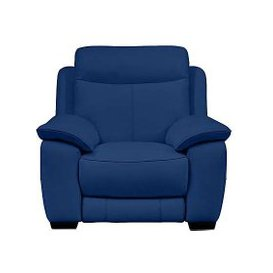 image-Starlight Express Leather Recliner Armchair