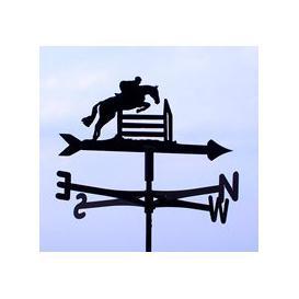 image-Weathervane in Horse Jumping Design - Medium (Cottage)