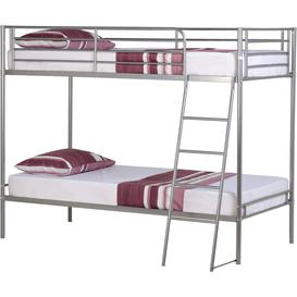 image-Brandon Single Bunk Bed in Silver