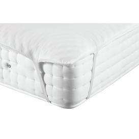 image-Argos Home Anti Allergy Memory Foam Mattress Topper - Single