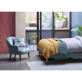 image-Heal's Elgin Chair Texture Limestone Natural Feet