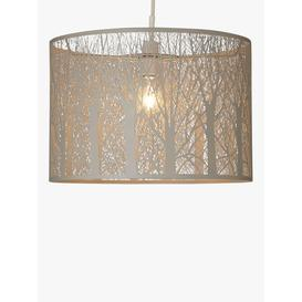 image-John Lewis & Partners Devon Easy-to-Fit Large Ceiling Shade, Taupe