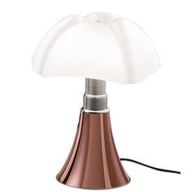 image-Minipipistrello LED Table lamp - LED / H 35 cm by Martinelli Luce White,Copper