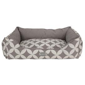image-Florence Bolster Cushion Scruffs Size: 16cm H x 60cm W x 50cmD, Colour: Grey