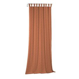 image-Beloit Tab Top Room Darkening Curtain ClassicLiving Size: 132cm H x 245cm W, Colour: Terra