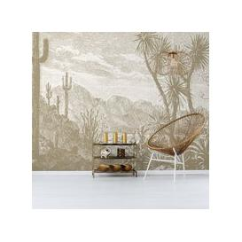 image-The Oasis Wall Mural (colour: Tan, size: Large (450w x 300h))