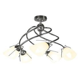 image-Mairead 5-Light Semi Flush Mount Marlow Home Co.
