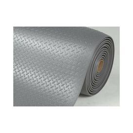 image-Somersby Anti-fatigue Doormat Borough Wharf Mat Size: 1cm H x 90cm W x 200cm L, Colour: Grey