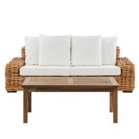 image-Dangefield Garden Sofa with Cushions Bay Isle Home