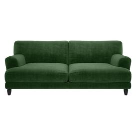 image-Askem Moss Green 3 Seater Sofa, Moss Green