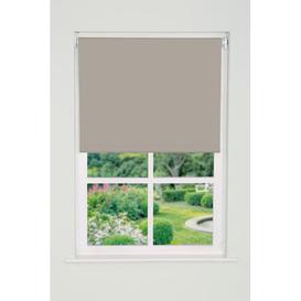 image-Blackout Roller Blind Brambly Cottage Finish: Taupe, Size: 165 cm L x 160 cm W