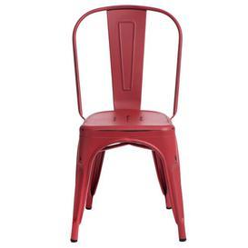 image-Santillan Dining Chair Borough Wharf Colour: Red