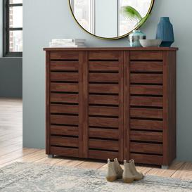 image-Ain 15 Pair Shoe Storage Cabinet