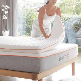 image-Dormeo Octasmart Mattress Topper White