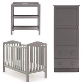 image-Ludlow Cot Bed 3 - Piece Nursery Furniture Set