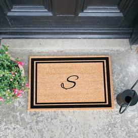 image-Branscum Doormat Brambly Cottage Letter: S