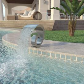 image-Warrensburg Stainless Steel Fountain Sol 72 Outdoor