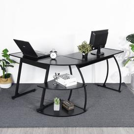 image-Montpellier L-Shape Executive Desk Ebern Designs