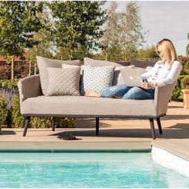 image-Maze Lounge Outdoor Fabric Ark Daybed in Taupe