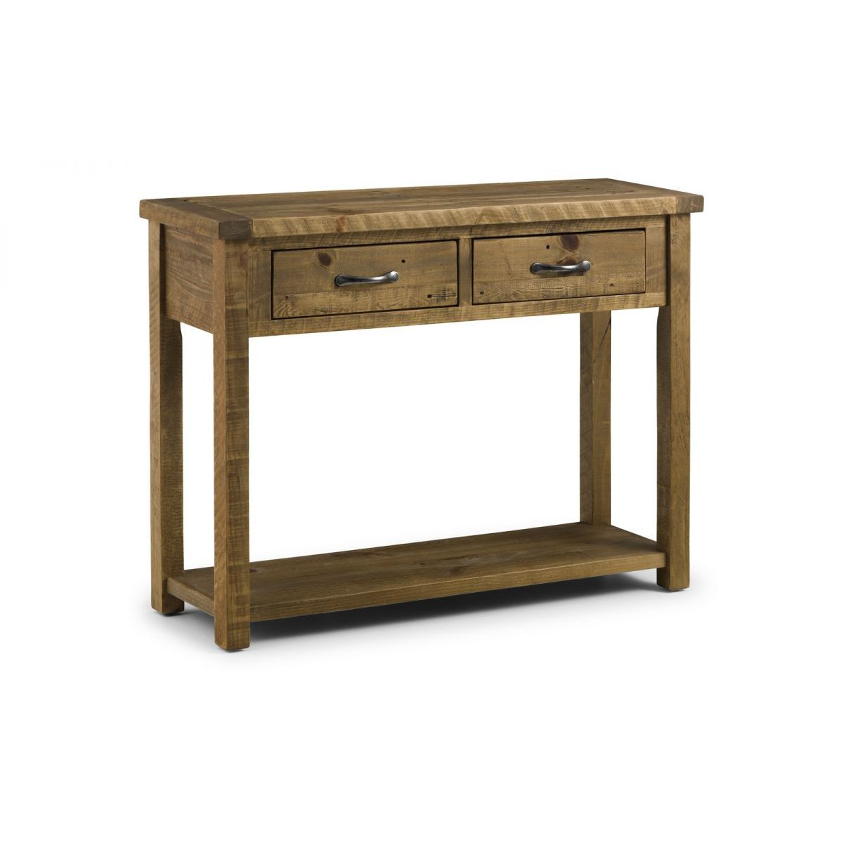 image-Aspen Console Table with 2 Drawers