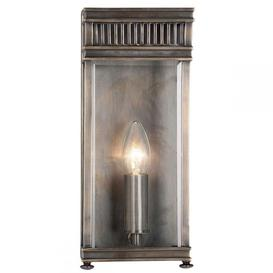 image-Elstead HL7/S DB Holborn Small 1 Light Outdoor Wall Lantern In Dark Bronze