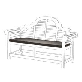 image-Bench Cushion Sol 72 Outdoor Colour: Grey