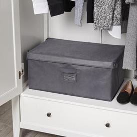 image-Large Foldable Grey Box Grey