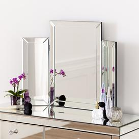 image-3 Piece Dressing Table Mirror
