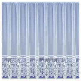 image-Willa Slot Top Semi Sheer Curtain Marlow Home Co. Panel Size: 500 W x 91 D cm
